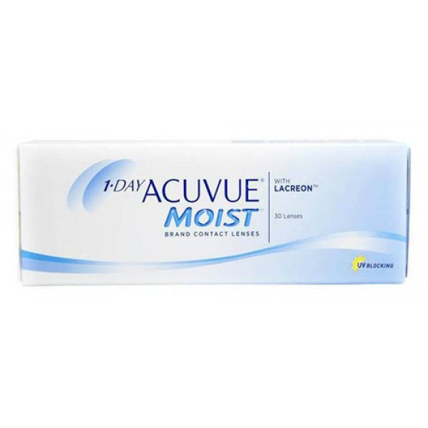 1 DAY ACUVUE MOIST 30 LENS CONTACT LENS