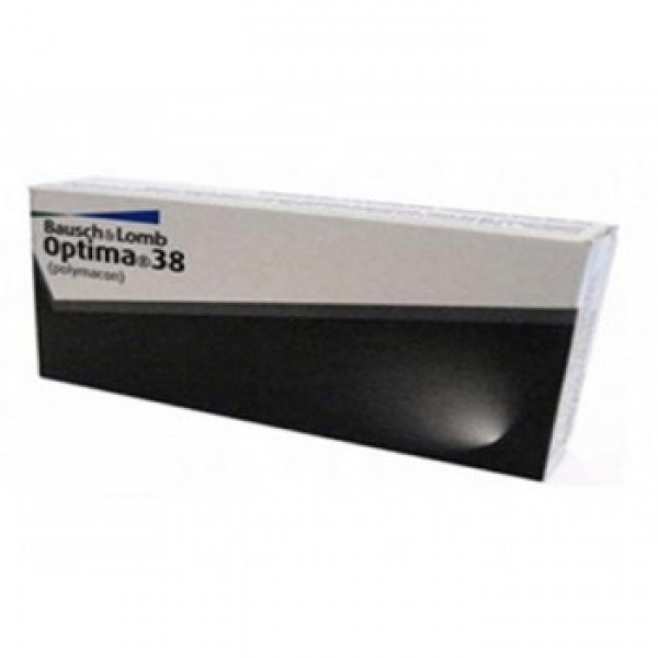 BAUSCH AND LOMB OPTIMA 38 SOFLENS CONTACT LENS