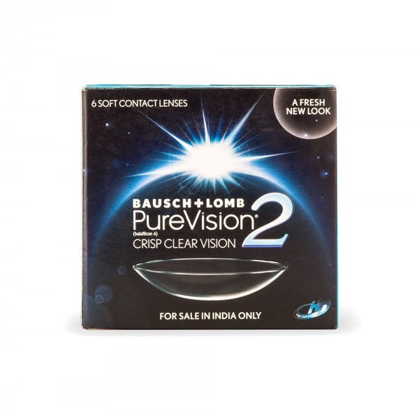PUREVISION-2 HD BAUSCH AND LOMB CONTACT LENS